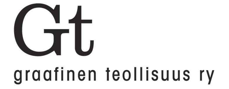 Graafisen Teollisuuden logo.